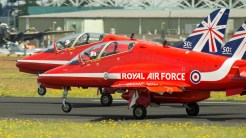 British Aerospace Hawk T1A XX244 RAF Red Arrows