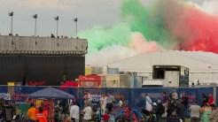 practice smoke frecce tricolore