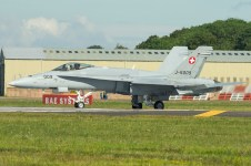 McDonnell Douglas FA-18C Hornet J-5009 Swiss air force