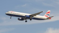 Airbus A321-231 British Airways G-EUXM