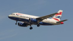 Airbus A319-131 British Airways G-EUPR
