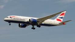 Boeing 787-8 Dreamliner British Airways G-ZBJE