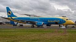 Embraer ERJ-190-100STD 190STD PT-TSB AeroSvit Ukrainian Airlines