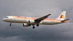 Airbus A321-211 EC-IJN Iberia