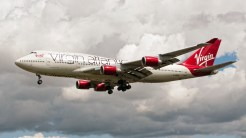 Boeing 747-41R G-VROC Virgin airlines