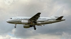Airbus A318-112 CJ Elite LX-GJC