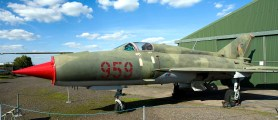 Micoyan Gurevich MiG21SPS 959 East German Air Force panorama