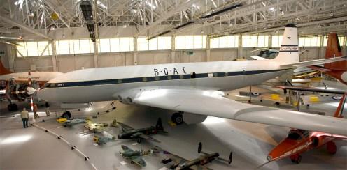 Panorama De Havilland DH-106 Comet 1XB BOAC G-APAS
