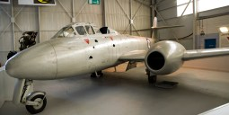 Panorama Gloster Meteor T7 WA634 Used for ejection seat trials