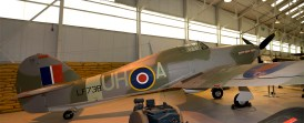 Panorama Hawker Hurricane Mk2C LF738 UH-A