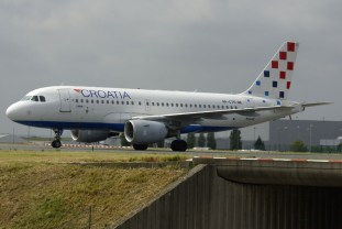 Airbus A319-112 9A-CTG Croatia Airlines