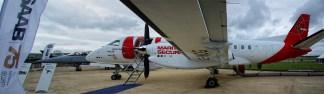 panorama Saab 340B-Plus SE-MCG