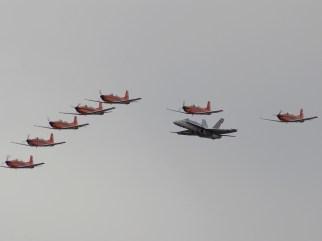 vlk04 pc-7 and F-18 switzerland