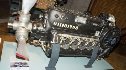 Flugmotor Daimler DB605 D