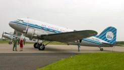 Douglas DC-3 C-47 53 117 R4D Skytrain Dakota PH-PBA Dutch Dakota Association