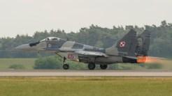 Mikoyan-Gurevich MiG-29A 9-12A 105 Polish Air Force