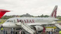 Airbus A319-133LR A7-JCA Qatar Airways s