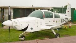 Grumman American AA-5B Tiger GO-CSE G-BFZR