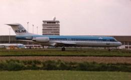 Fokker 100 PH-KLE KLM