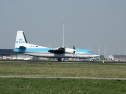 Fokker 50 G-UKTI KLM UK