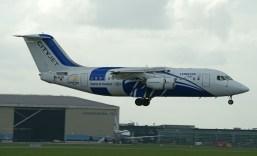 BAE Systems Avro 146-RJ85A EI-RJX CityJet