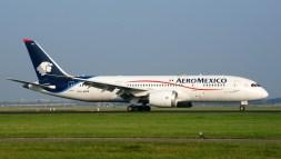 Boeing 787-8 Dreamliner XA-AMX AeroMexico