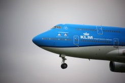 Boeing 747-406M PH-BFT KLM panda stickers
