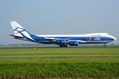 Boeing 747-8HVFSCD VQ-BRJ AirBridgeCargo Airlines - ABC