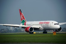 Boeing 787-8 Dreamliner 5Y-KZC Kenya Airways