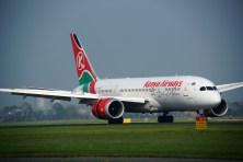 Boeing 787-8 Dreamliner 5Y-KZC Kenya Airways