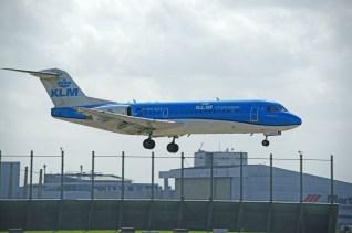 Fokker 70 PH-KZB KLM Cityhopper