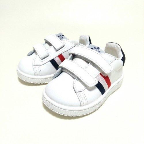 zapatilla blanca niño