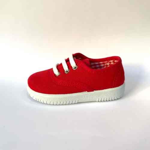 Zapatillas rojas niño