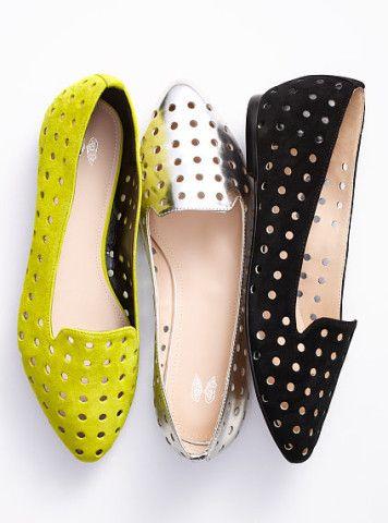 Zapatos perforados - Zapatos de Moda