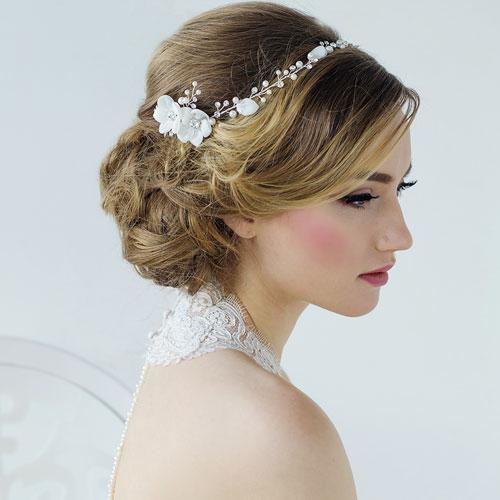 wedding hair vine annaleise