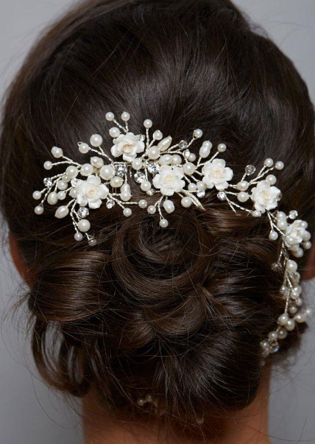 amanda wyatt aw1167 pearl bridal hair vine