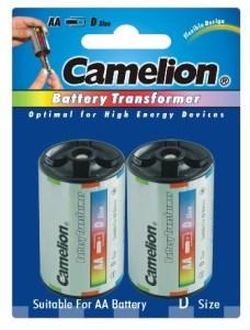 Adaptador de aluminio / 2xC Camelion