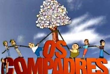 """""""Os Compadres"""" estão de volta e trazem consigo o prémio da lotaria"""