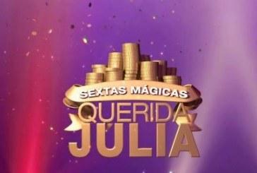 """'Sextas Mágicas' do """"Querida Júlia"""" bate recorde e chega à liderança"""