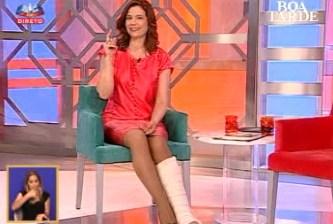 Conceição Lino discute com realizadora do