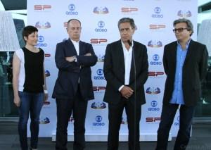 """Inês Gomes, autora de """"Mar Salgado"""" com António Parente, Luís Marques e Guilherme Bockel"""