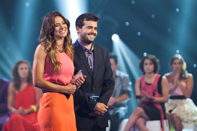 Cláudia Vieira e João Manzarra