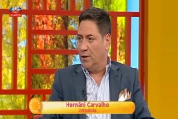 """Hernâni Carvalho salva audiência do """"Queridas Manhãs"""""""