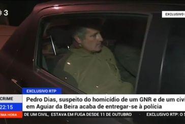 Veja o momento histórico na RTP3 da entrega de Pedro Dias [vídeo]
