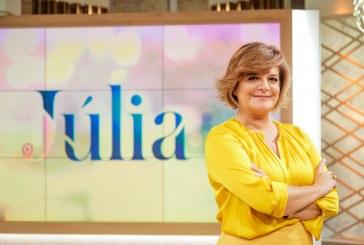 """""""Júlia"""" e """"A Tarde é Sua"""" empatam em audiência"""