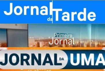 """""""Jornal da Uma"""" toca na liderança e deixa """"Linha Aberta"""" em segundo"""