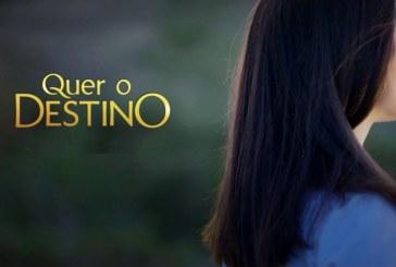 """""""Quer o Destino"""": Apaixonada, Vitória esquece vingança e despede-se da herdade"""