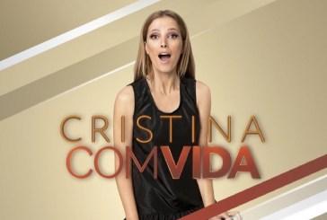 """Audiências: """"Cristina Comvida"""" perde para a CMTV e marca o seu pior valor de sempre"""