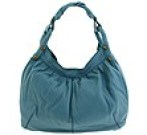 Lucky Brand - The Twist - LG Leather Hobo (Blue Tapestry) - Bags and Luggage