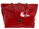 Dooney and Bourke - Patent Medium Cindy Tote (Cherry) - Bags and Luggage